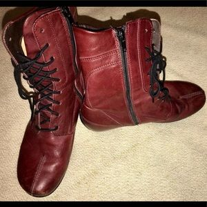 Red Wolky Boots